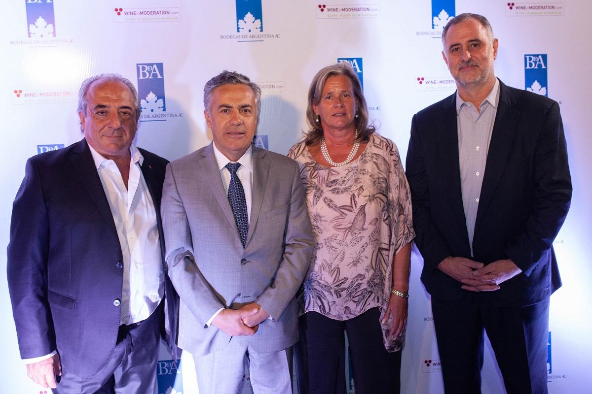 Walter Bressia, Alfredo Cornejo, Patricia Ortiz y Milton Kuret