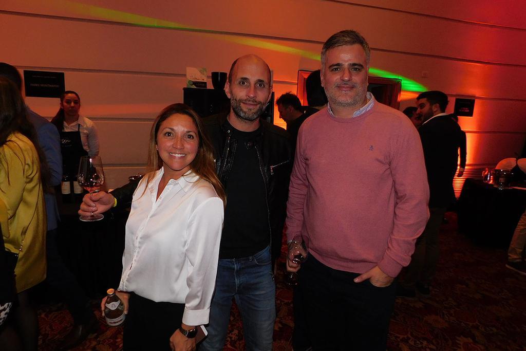 Analía Videla, Maximiliano Constantini y Marcos Jofré