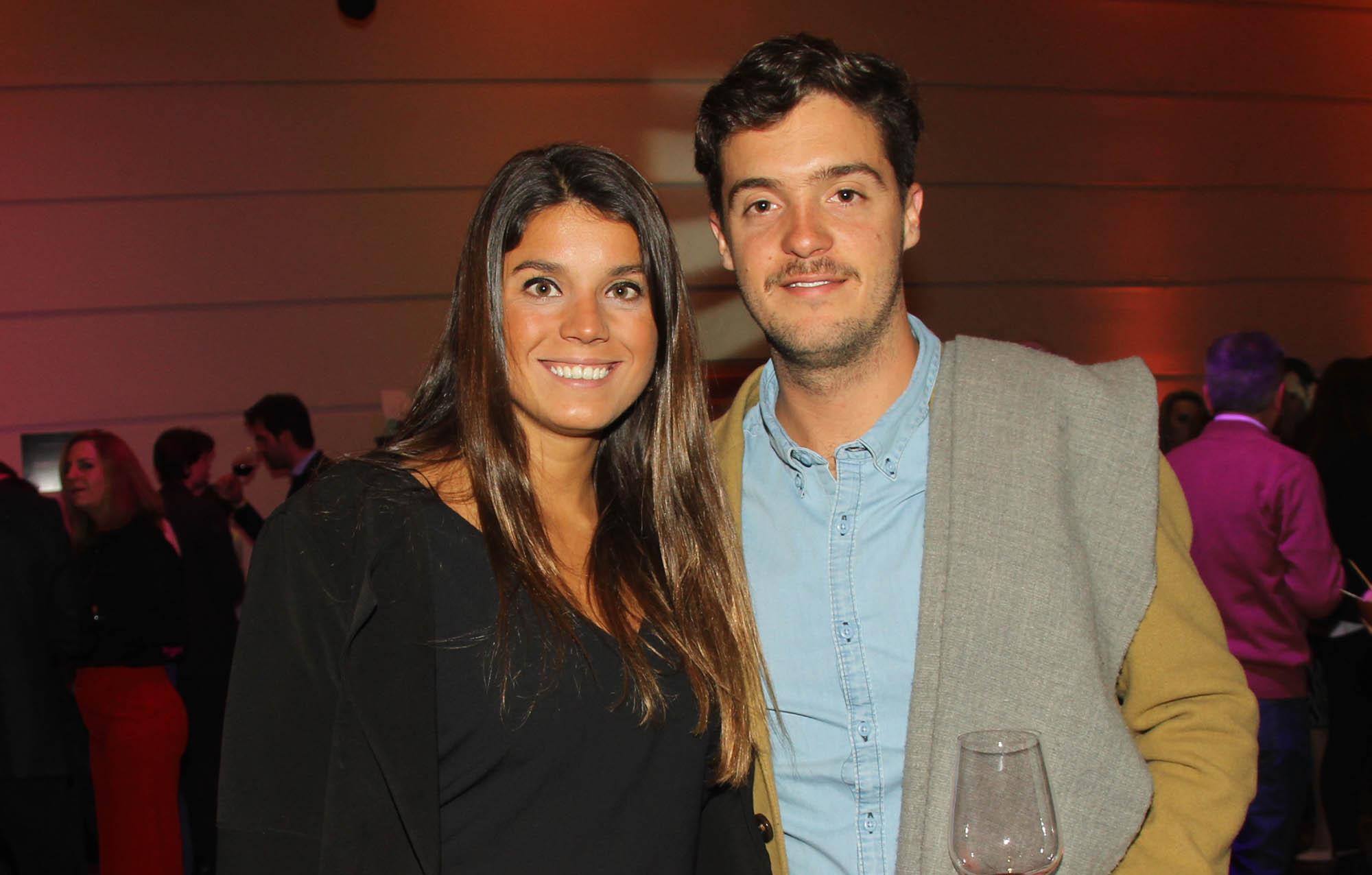 Fabricio Carletti (Villavicencio) y su novia