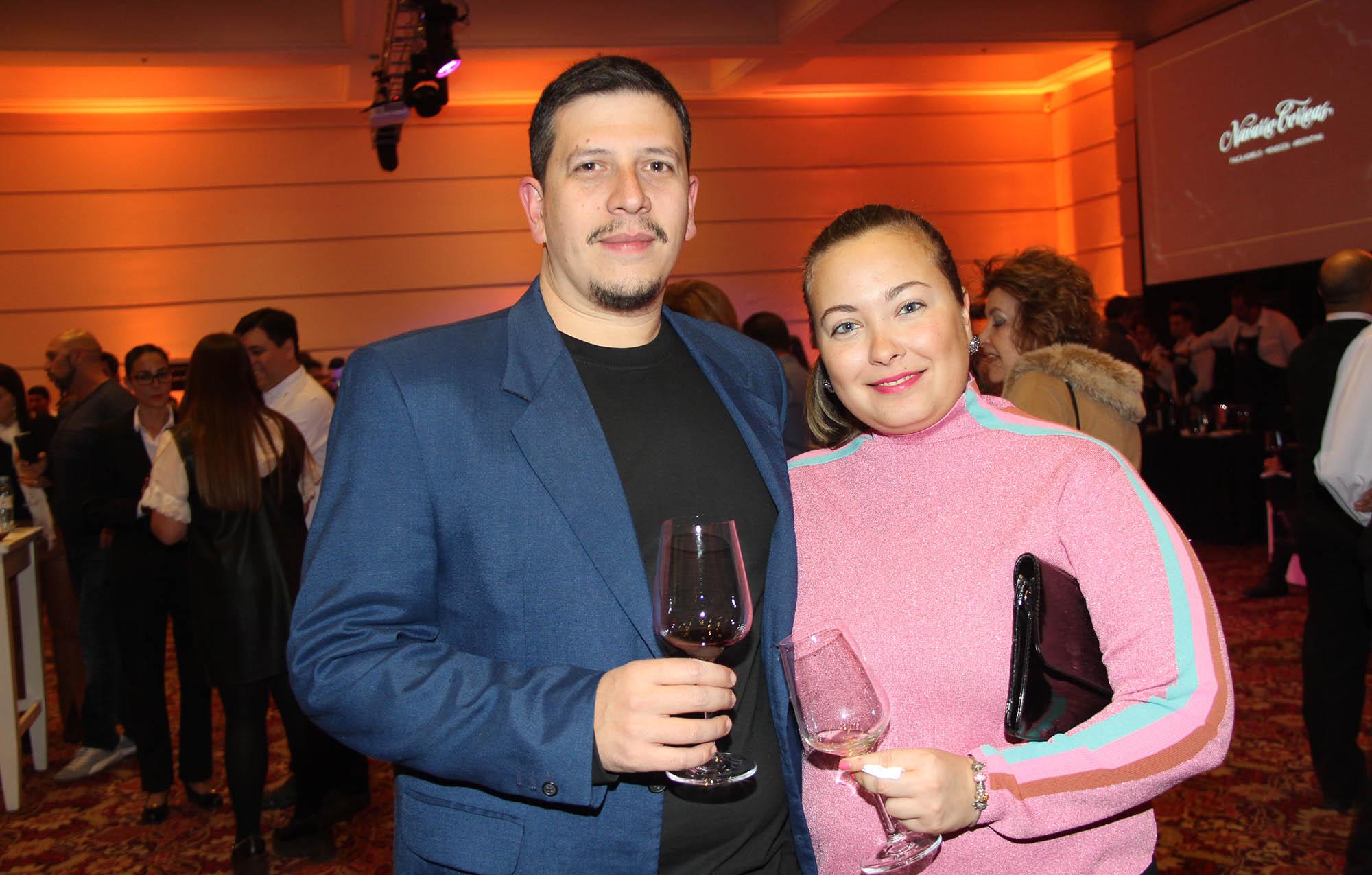 Florencia Manzur y pareja