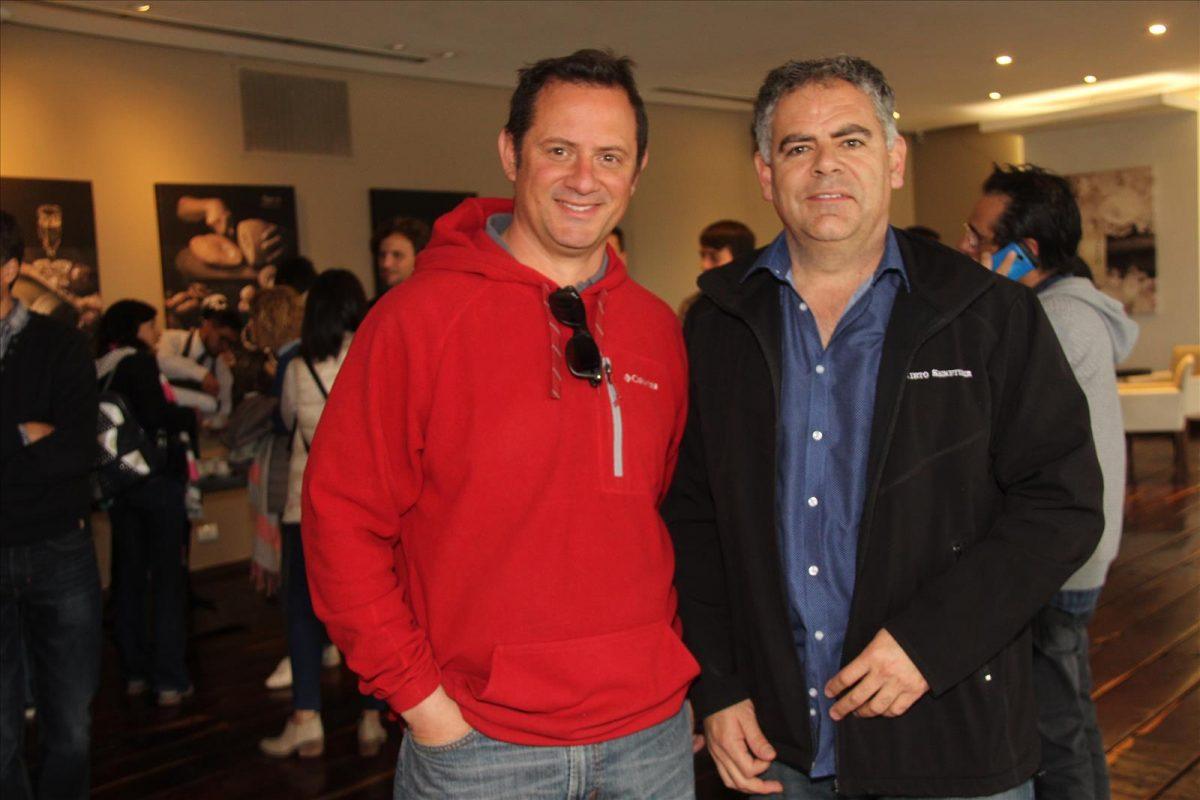 Gustavo Bauzá y Enrique Carretero