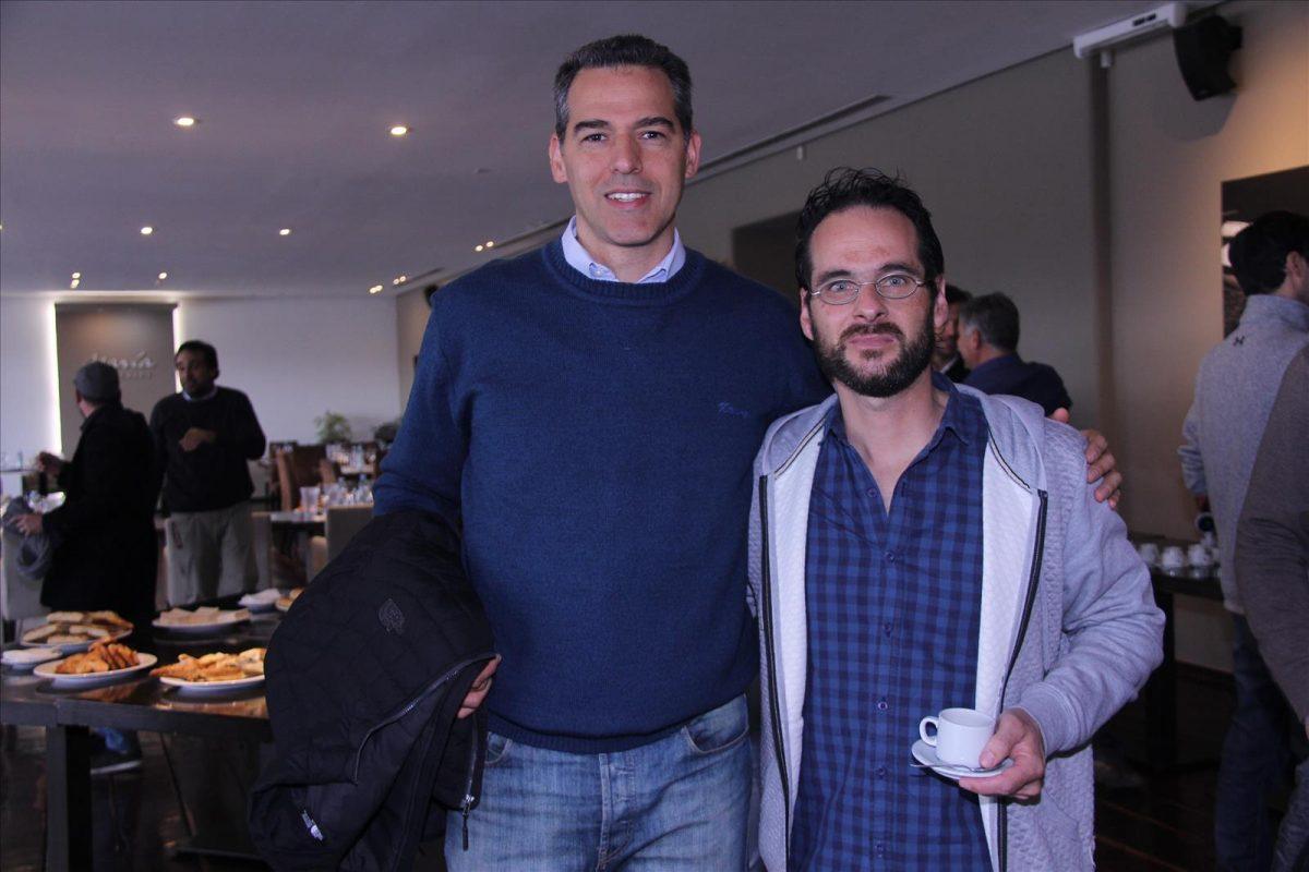 Gustavo Sánchez y Adrián Vargas
