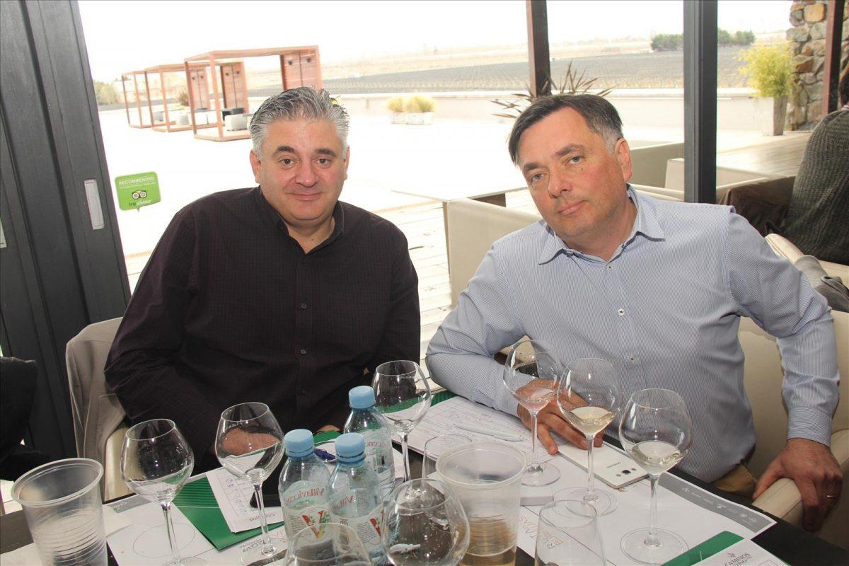 Silvio Alberto y Pepe Morales