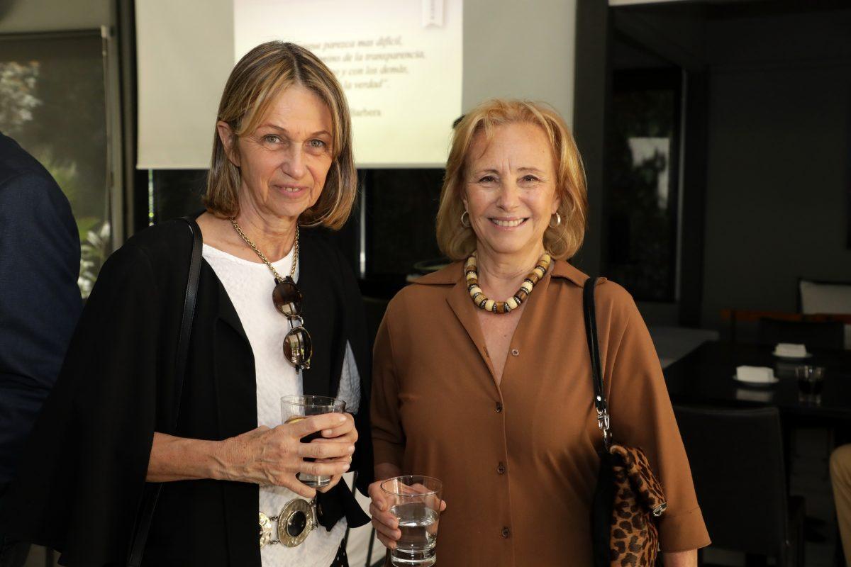 Cecilia Zunino y Eliana Bórmida
