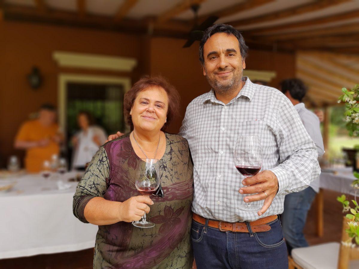 Claudia Corin y Jorge Cabrera
