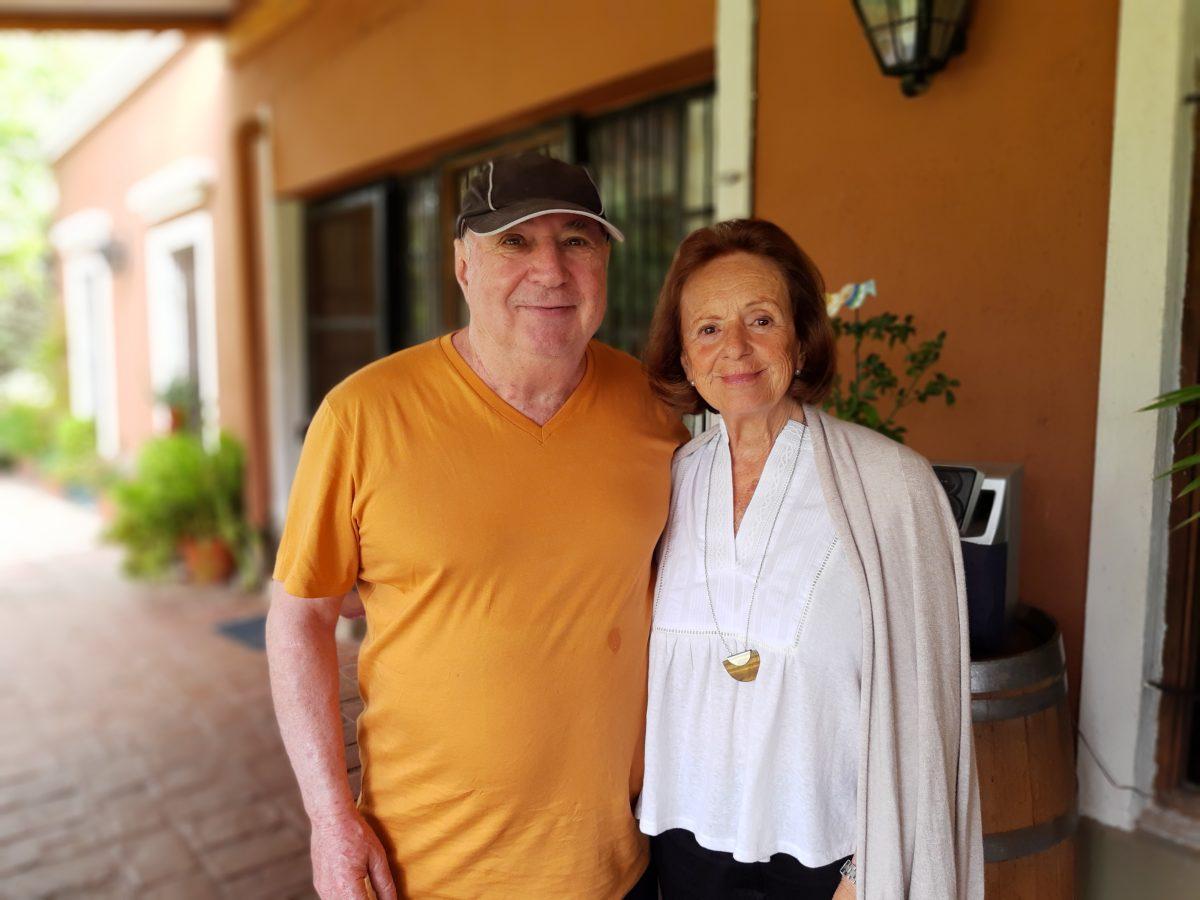 Enrique Chrabolosky y Florencia Cassone
