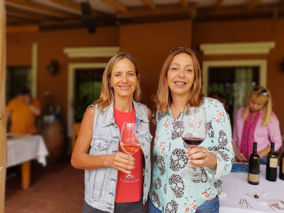 Estela Perinetti y Roxana Badaloni