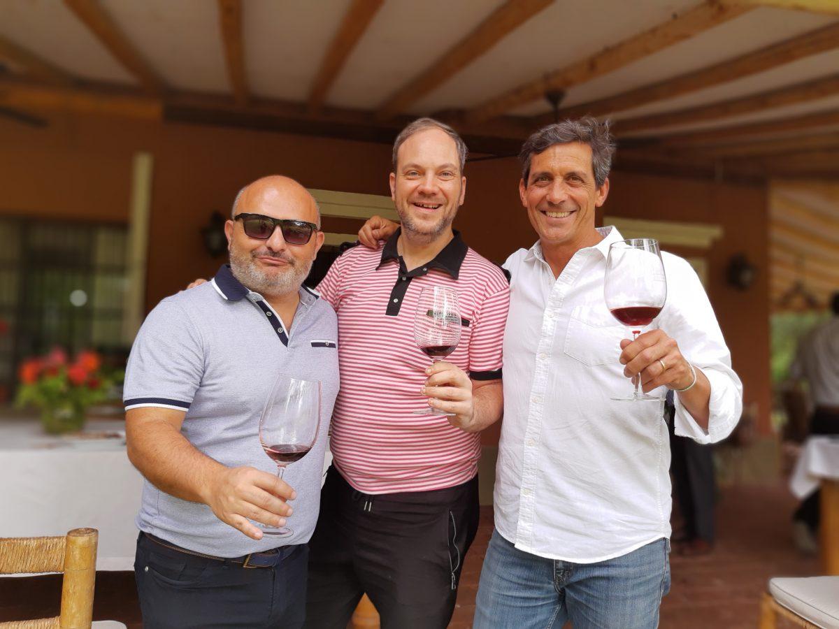 Fede Lancia, Fede Croce y Fede Cassone